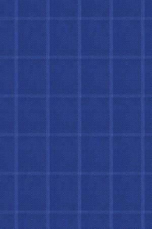 Rubin Royal Blue Windowpane Sportcoat 34066