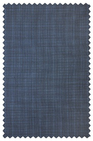 Jack Victor Blue Pattern Suit #341421