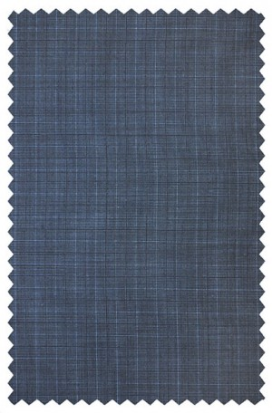 Jack Victor Blue Pattern Suit 341421