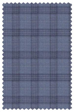 Rubin Blue Pattern Tailored Fit Sportcoat 34437