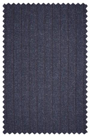 Varvatos Navy Stripe Flannel Slim Fit Suit 3456C