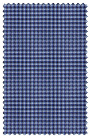 Rubin Blue Check Tailored Fit Sportcoat 34917