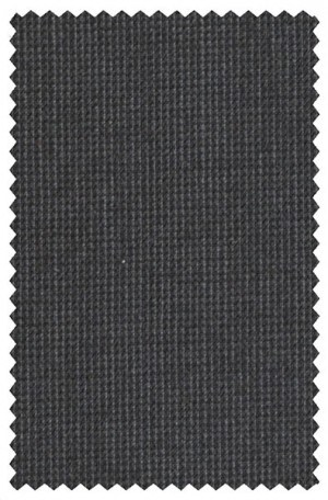 Petrocelli Charcoal Micro-Check 'Executive' Cut Suit 36317