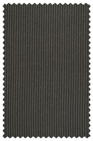 Jack Victor Black Stripe Suit with Pleated Slacks #372326