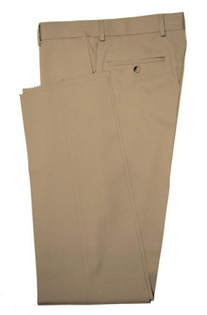 BETENLY Camel Solid Color SLACKS 3F0005
