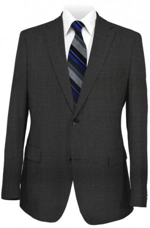 Montefino Solid Charcoal Suit