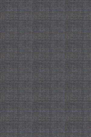 Rubin Gray Windowpane Tailored Fit Suit #40959