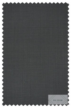 Pal Zileri Navy & Blue Fine Houndstooth Tailored Fit Suit #41529-1