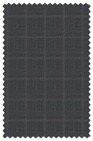 Prontomoda Blue Pattern Tailor Fit Suit #44220