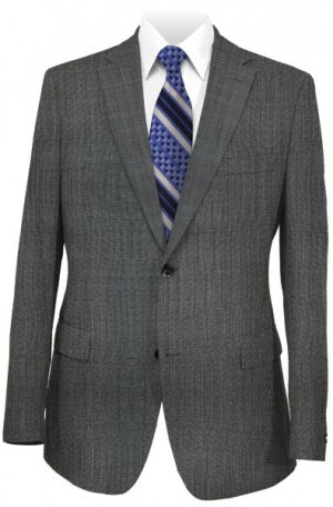 Pronto Gray Micro - Check Suit Package