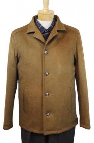 International Laundry Camel Tan Cashmere Blend Coat #4806-CML