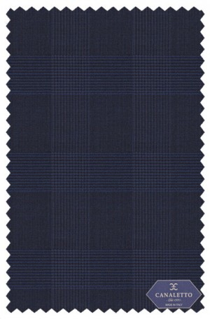 Canaletto Navy Pattern Tailored Fit Suit #487495-3C