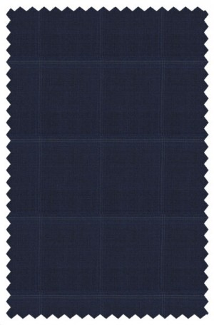 Canaletto Blue Windowpane Tailored Fit Suit 487495-3