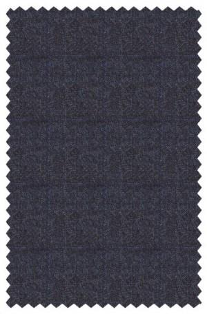 DKNY Navy Windowpane Slim Fit Sportcoat #4RW0068