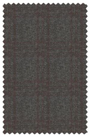 DKNY Charcoal Pattern Slim Fit Sportcoat #4RW0075