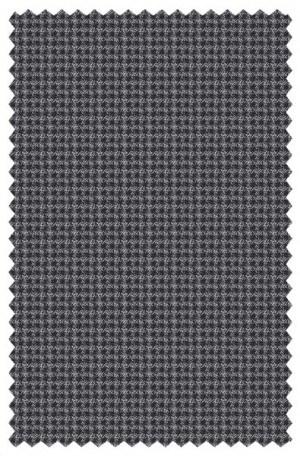 DKNY Gray Mini-Check Slim Fit Sportcoat #45Y0070