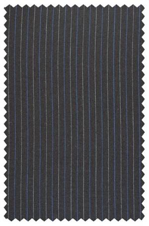 Rubin Navy Stripe Gentleman's Cut Suit #50147