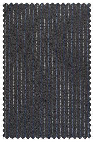 Rubin Navy Stripe Classic Fit Suit #50147