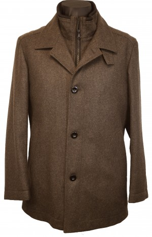Hugo Boss Brown Car Coat #50271150-037