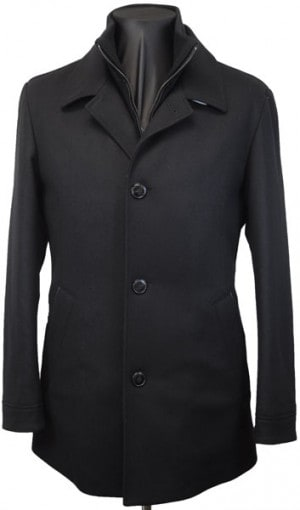Hugo Boss Black Car Coat #50320536-001