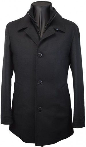 Hugo Boss Black Car Coat 50320536-001