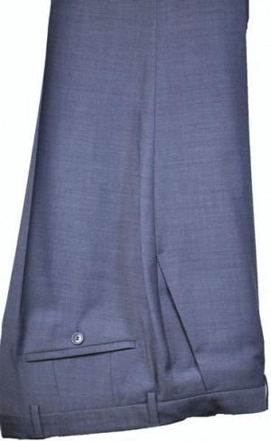 Hugo Boss Light Blue Sharkskin Tailored Fit Dress Slacks #50326477-430