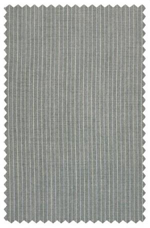 Rubin Slim Fit Light Gray Stripe Suit #51964