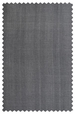 Rubin Charcoal Windowpane Tailored Fit Suit 52029