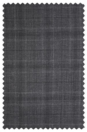 Rubin Charcoal Pattern Classic Fit Suit 52134