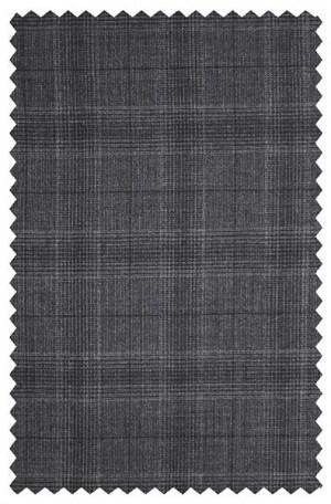 Rubin Charcoal Pattern Gentleman's Cut Suit 52134