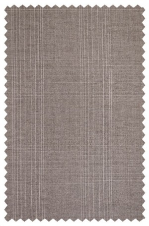 Rubin Taupe Pattern Tailored Fit Suit #52298