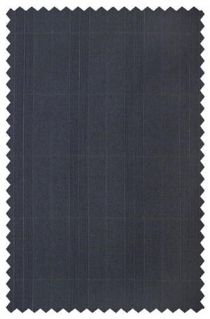 Rubin Navy Windowpane Gentleman's Cut Suit #53507
