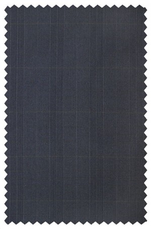 Rubin Navy Windowpane Classic Fit Suit 53507