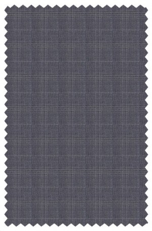 Rubin Light Gray Pattern Tailored Fit Suit 56314