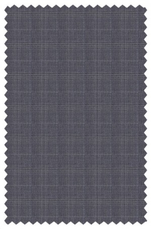 Rubin Light Gray Pattern Tailored Fit Suit #56314
