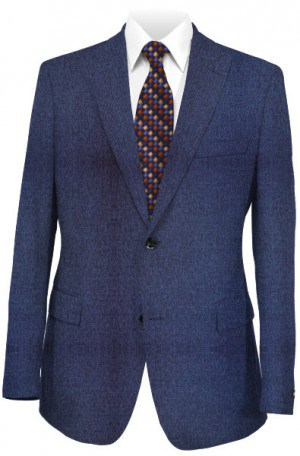 Sean Jean Royal Blue Tailored Fit Suit #57Z1089
