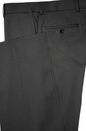 Petrocelli Black Wool-Blend Dress Slacks