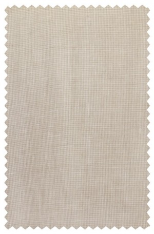 Haspel Tan Check Linen Summer Suit 5911