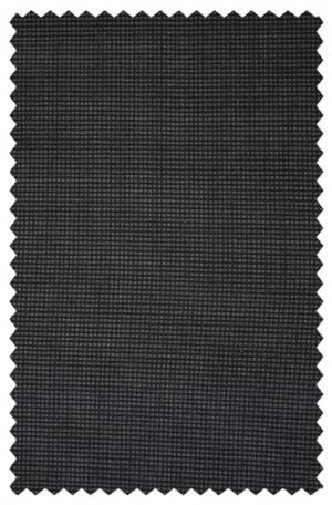Calvin Klein Charcoal Mini-Check 'X' Slim Fit Suit #5FY0416