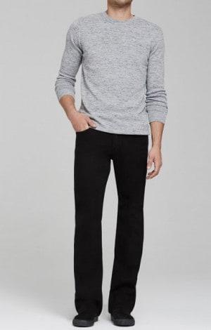 Citizens Black Sid Straight Leg Jeans #604D-351