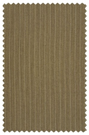 Rubin Dark Tan Stripe Classic Fit Suit #62903