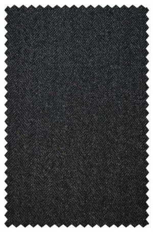 Petrocelli Gray Herringbone Gentleman's Cut Sportcoat #65100