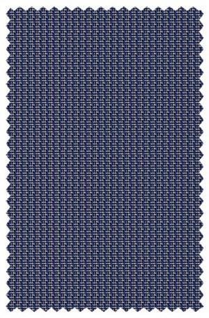 Petrocelli Blue Check Gentleman's Cut Sportcoat #70106
