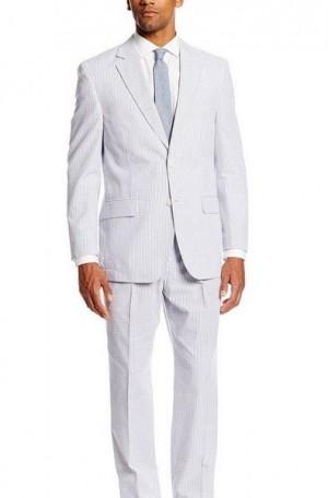 Classic Summer Seersucker Suit 7255
