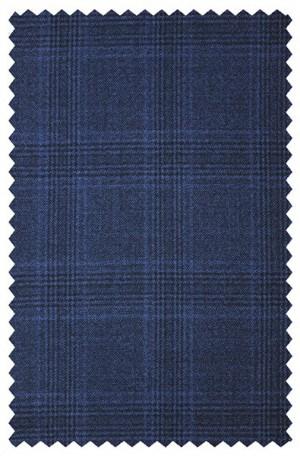 CALVIN Medium Blue Plaid SPORTCOATS 7JX0738