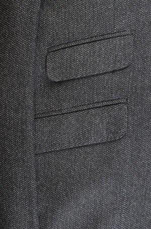 Calvin Klein Gray Tweed Slim Fit Sportcoat #7YZ0123