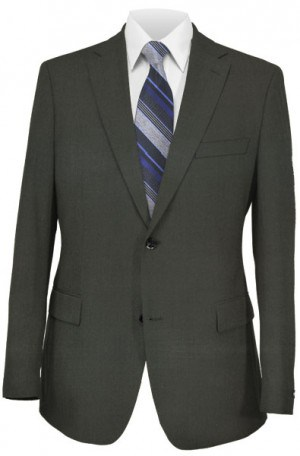 Calvin Klein Charcoal Grey Extreme - Fit Suit Separates