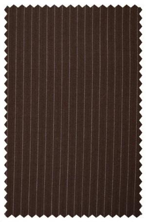 Rubin Medium Brown Stripe Gentleman's Cut Suit 80342