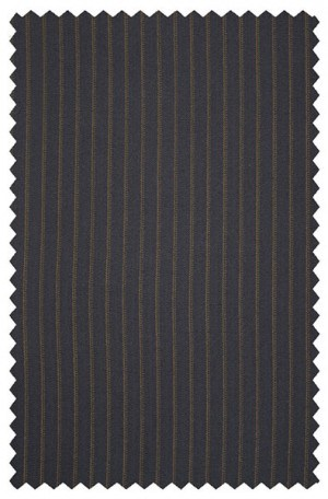 Mattarazi Navy Stripe Suit #813621-2