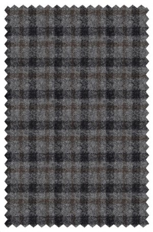 TailoRed Gray Check Wool-Cashmere Tailored Fit Sportcoat #8160056